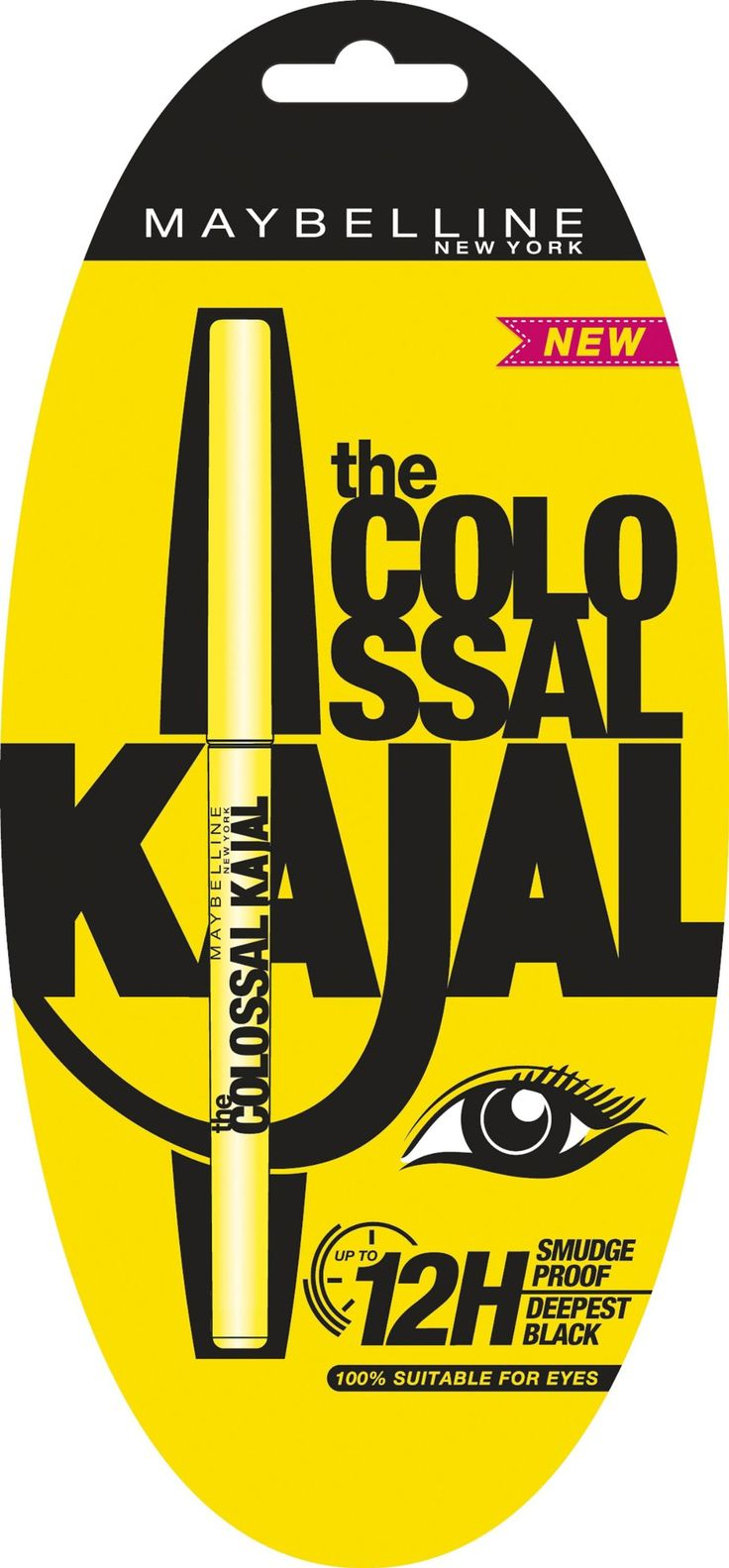 Maybelline The Colossal Kajal Eyeliner Pencil - Black