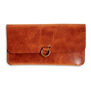 Sunglasses Case in Leather - Lindex