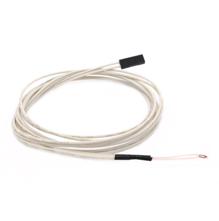 5Pcs 100K ohm NTC 3950 Thermistors <b>Sensors</b> with Cable 3D ...