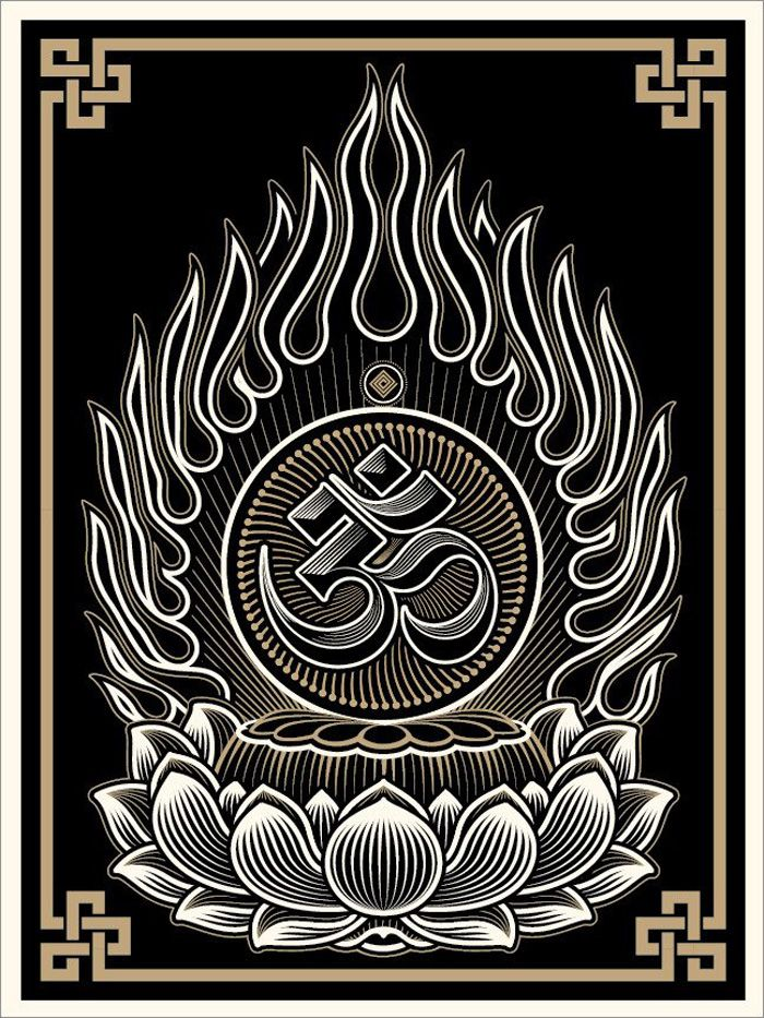 """Cryptik's art campaign is about self-discovery and finding a deeper meaning of life. It's about expanding your reality. Drawing inspiration from Hinduism and Buddhism, psychedelics, UFO's and Quantum Mechanics, The """"Cryptik Movement"""" challenges the viewer to open the mind to all possibilities. Spiritual Propaganda, as Cryptik defines it, is neither a tribute to one specific religion, nor a call for philosophical conformity."""