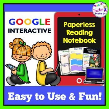 Google Drive Paperless Interactive Reading Notebook Are you wanting to try out Google Classroom? Maybe you are transitioning to a 1:1 classroom? This Interactive Digital Notebook is the answer to infusing technology into your classroom.Google Interactive: Super Six Comprehension Strategies in a Digital Reading NotebookBENEFITS OF GOOGLE CLASSROOM: PAPERLESS  INTEGRATE TECHNOLOGY INTO THE CLASSROOM IMPROVE STUDENT COMPUTER SKILLS INCREASE STUDENT ENGAGEMENT ACCESS MATERIALS ANYWHEREDo you…