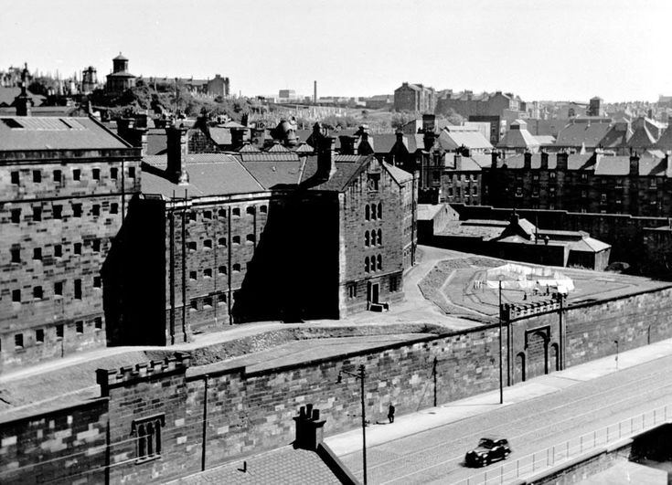 Duke Street Prison,  Demolished in 1958. Parts of the outside wall are all that remain