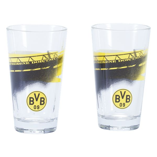 Borussia Dortmund Two Pack of Glasses 7 oz.