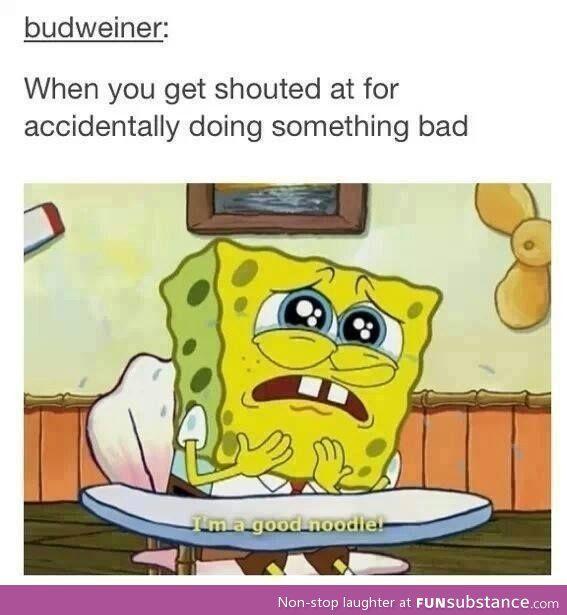 That horrid moment