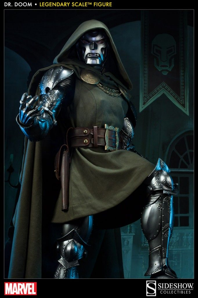 Project : Rooftop | How It's Done: Sideshow Collectibles' Dr. Doom Figure!