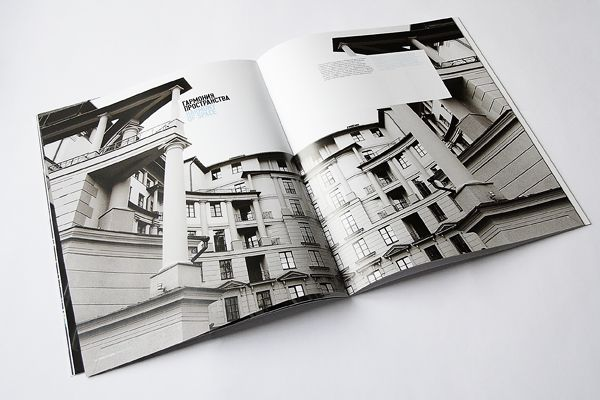 Forum Properties Brochure by Aleksander Blücher, via Behance