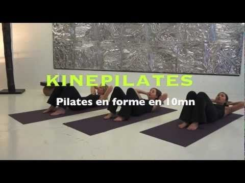 Programme express de Pilates pour vous mettre en forme en 10 minutes !