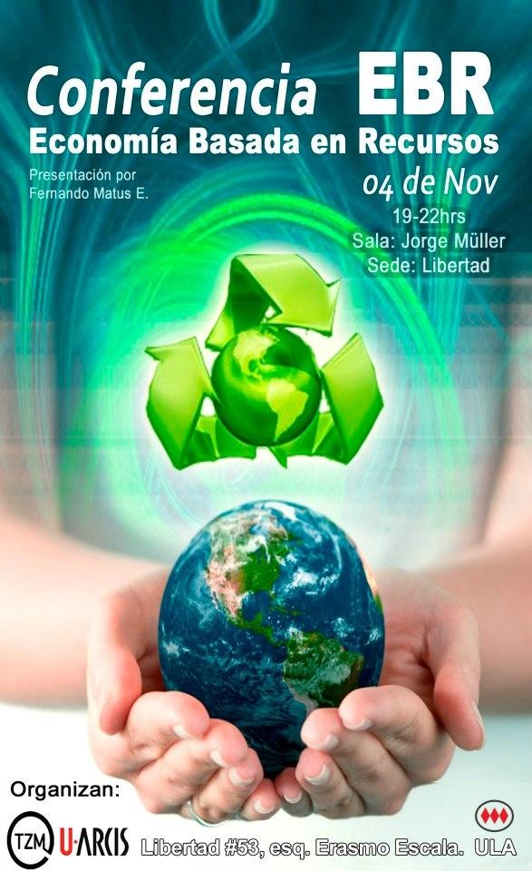 Conferencia economía basada en recursos