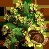 FarmVille Limited Edition English Garden Trees: Juneberry, Kilimarnock Willow, European Horse Chestnut & Red Horse Chestnut
