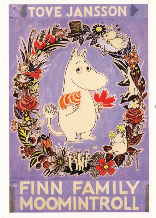 Moomin - Tove Jansson. Tove Jansson wrote a few Moomin childrens books in the 40s, then spent 5 years doing it as a newspaper comics strip, then wrote a few more books.