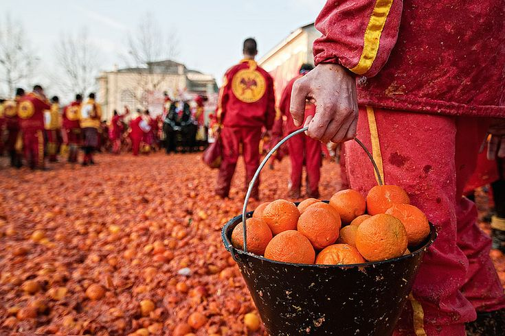 Battle of the Oranges - Italy