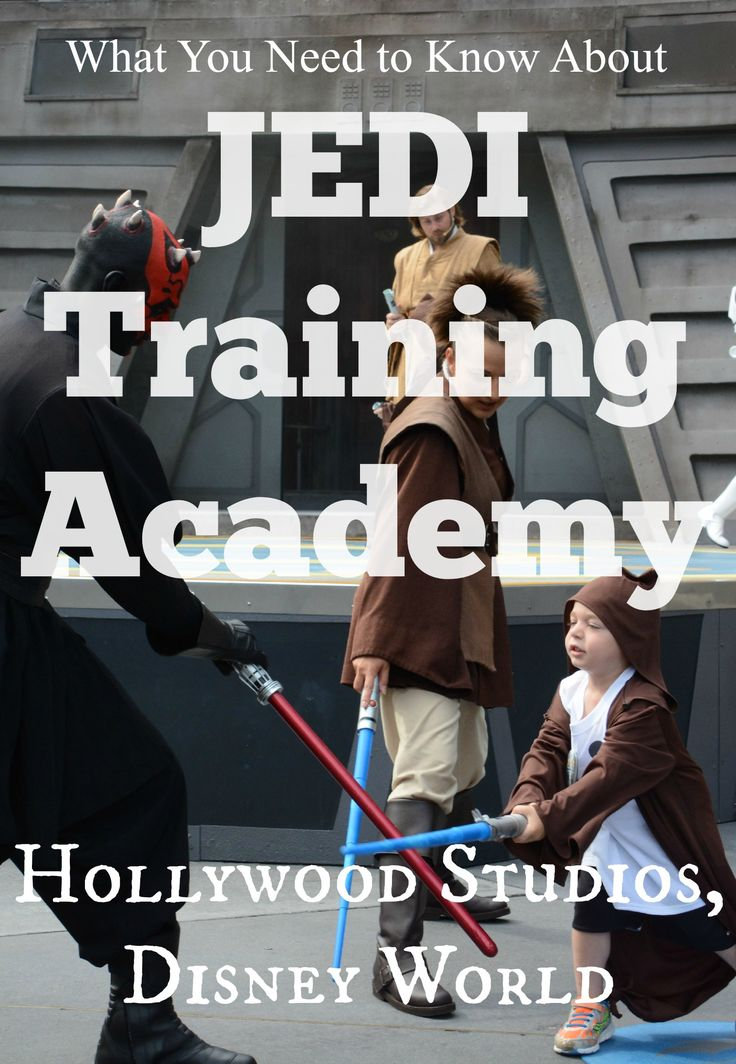 Jedi Training Academy at Walt Disney World Hollywood Studios. Tips for the experience - a perfect free (after admission) activity for Star Wars Fans while visiting Disney. Star Wars Weekends.