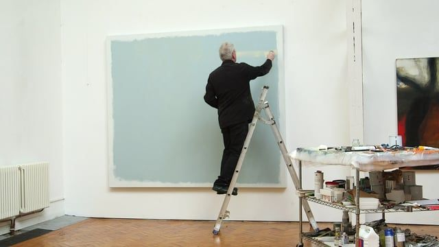 """We visit Hughie O'Donoghue RA in his London studio, as he works on a new canvas and reflects on how, for him, the painting process is akin to """"reverse archaeology"""". Read more about his exhibition at Marlborough Fine Art: https://www.royalacademy.org.uk/article/hughie-o-donoghue-ra-at-marlborough"""