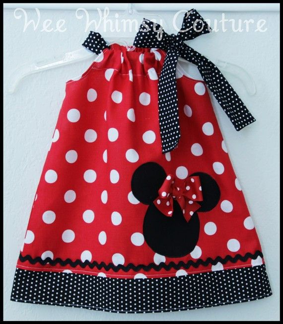 Minnie Mouse dress!