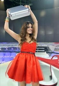 Susana Molina se alza como ganadora de 'GH 14'