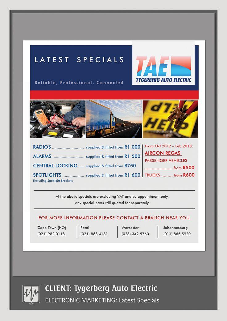ADVERTISING: Specials Mailer