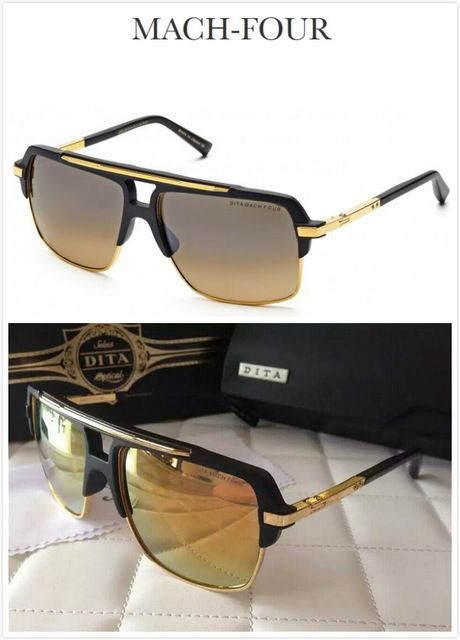 New Colorful Plastic Luxury Eyewear MACH FOUR DITA Sunglasses Mens gafas de sol hombre Women Designer Brand Polarizing Glasses