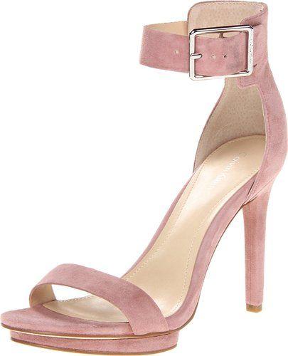 Elegant light purple Calvin Klein strappy prom sandals 2014 -------------------------------------------- lavender - pink high heels, light purple strappy sandals, high prom shoes