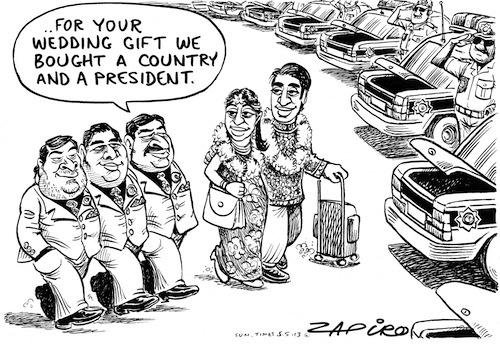 Gupta Wedding Gift, a Country