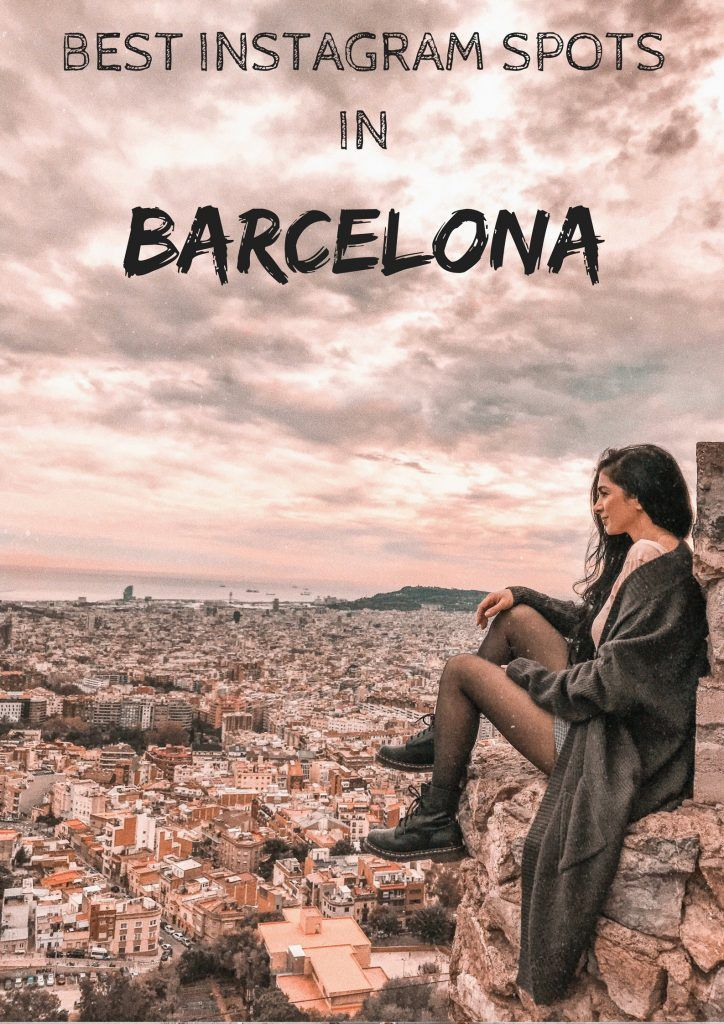 Best Instagram Spots in Barcelona