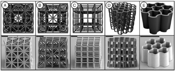 Stronger and lighter: new 3D printed material takes inspiration from bone