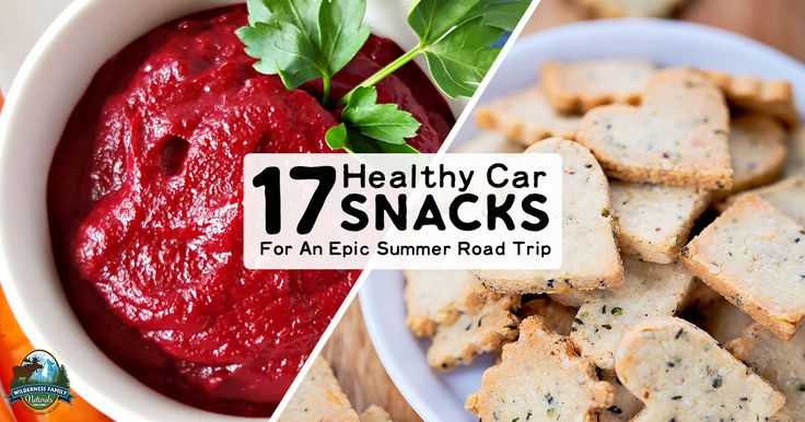 From protein-packed granola and sweet treats to veggies with dip, these healthy car snacks are sure to make your summer road trip EPIC!