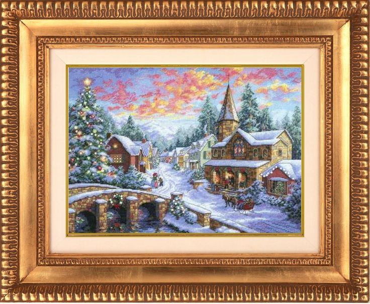 Feliz Natal: Paisagem de NatalChristmas Landscapes, Christmas Village, Crosses Stitches Christmas, Two People, Merry Christmas, Counting Crosses, Christmas Needlework, Paisagem De, Merry Christmas