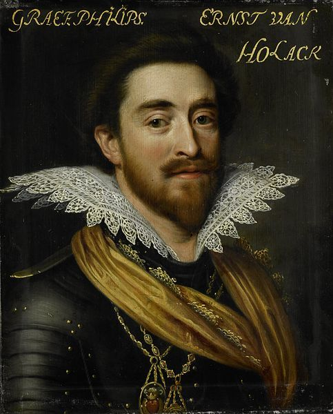 Philip Ernest, Count of Hohenlohe-Langenburg (1584–1628). Oil on panel, 29.7 by 24.1 cm, Rijksmuseum Amsterdam. Date	circa 1609-1633