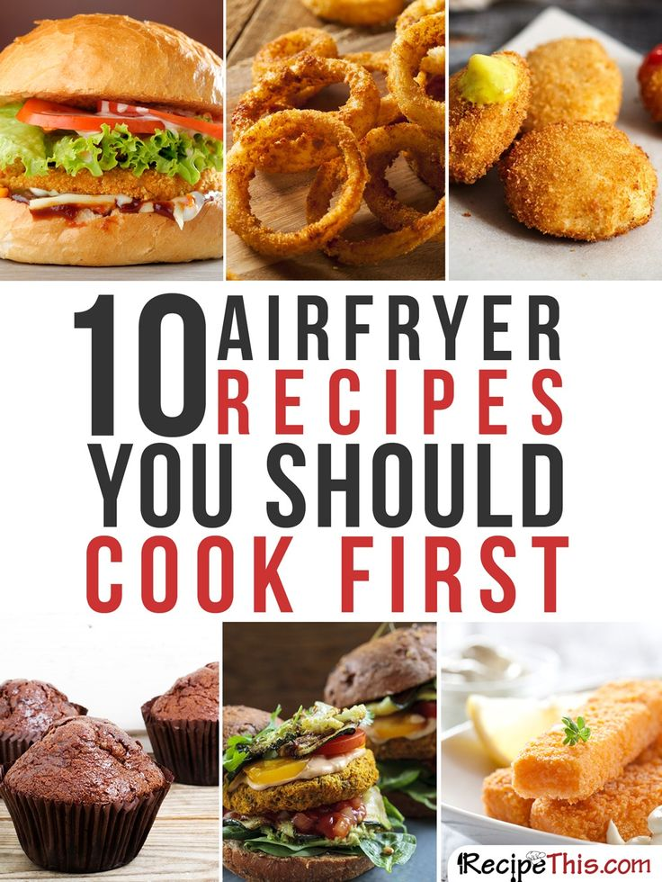 Airfryer Recipes | Top 10 Philips Airfryer Recipes You Should Cook First from RecipeThis.com