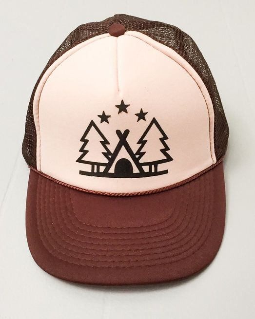 Hip Mountain Mama - Camp Out Trucker Hat, $22.00 (https://www.hipmountainmama.com/camp-out-trucker-hat/)