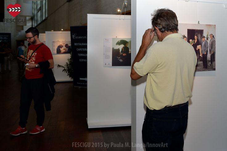 Exposiciones FESCIGU. 'Cine y discapacidad'. Fecha: 01/10/2015. Foto: Paula M. Langa/InnovArt