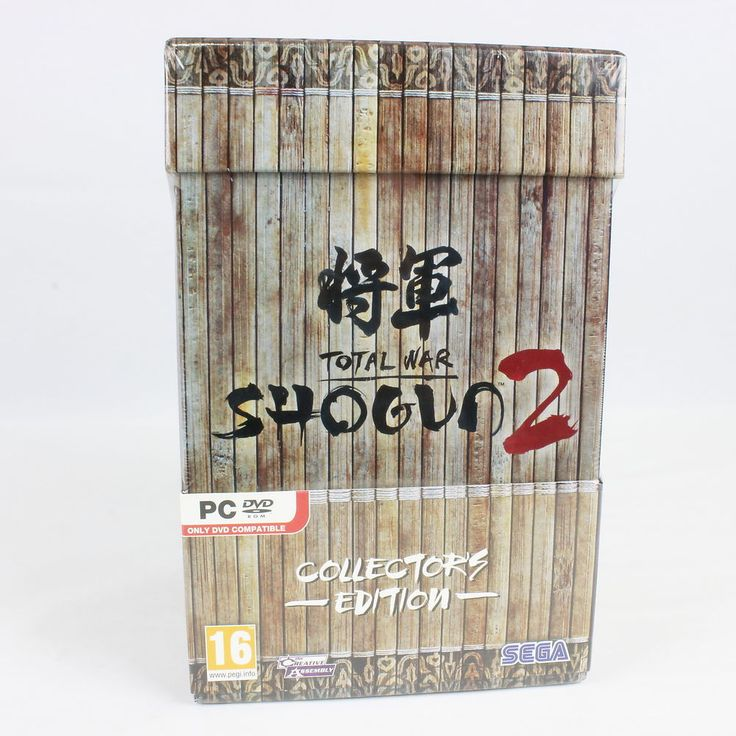 Total War: Shogun 2 Collectors Edition for PC by Creative Assembly, 2011