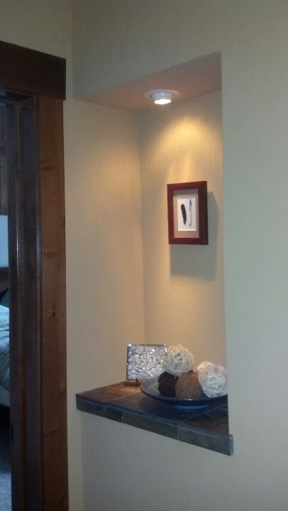 16 best wall niches images on pinterest wall niches art for How to decorate an alcove in a wall