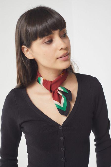Flecked Mini Silk Scarf | WEAR in 2019 | Womens scarves