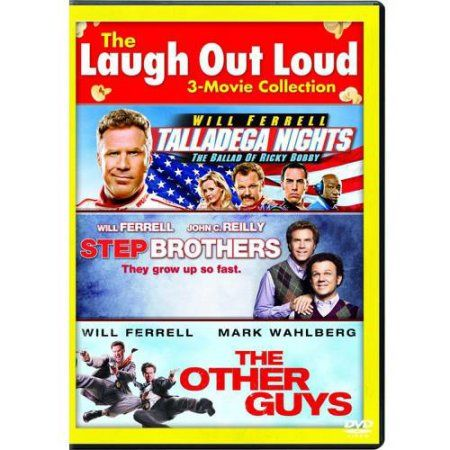Will Ferrell 3-Movie Collection: Step Brothers / The Other Guys / Talladega Nights (With INSTAWATCH) (Widescreen) $9.96