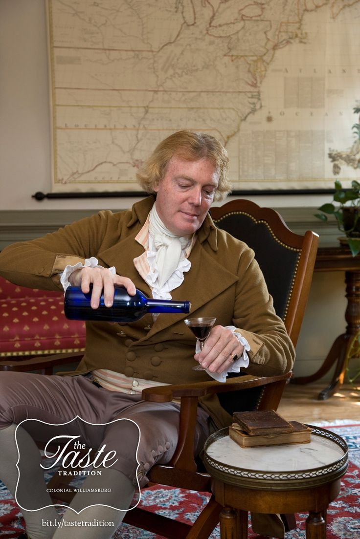Thomas Jefferson Wine Dinner - Colonial Williamsburg's The Taste Tradition Weekend.