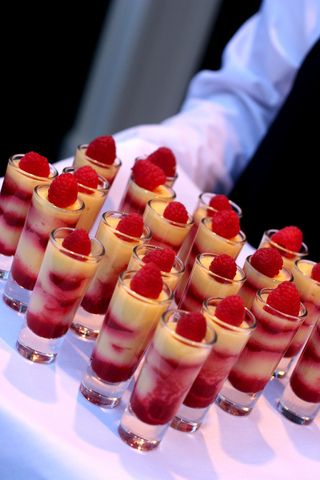 dessert-canapes-in-shot-glass by Cryssie2009, via Flickr