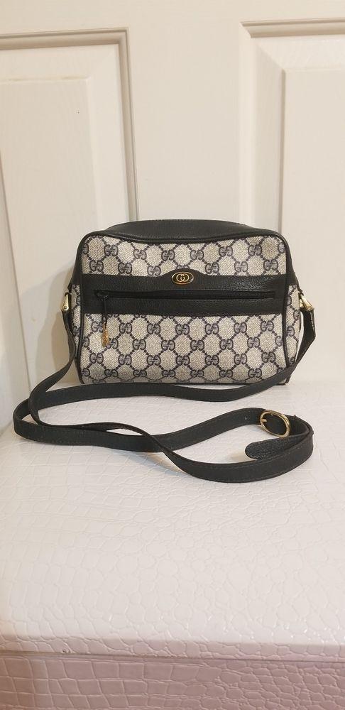 62012060e28b95 Authentic Vintage GUCCI PARFUMS Cross Body Messenger Shoulder Bag Purse  Handbag #purses #fashion