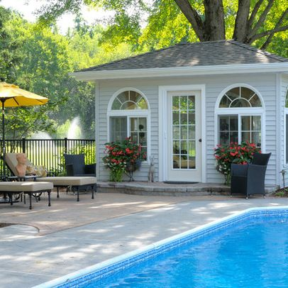 1000 Images About Pool Houses And Guest Cottages On Pinterest