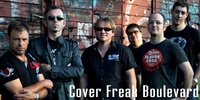 Cover Freak Boulevard    Cover Freak Boulevard ist eine neuformierte Coverrockband um Sänger Josy Albrecht, der mit einer absolut groovigen fünfköpfigen Band wieder am Start ist.