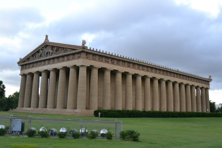 Parthenon. Nashville, Tennessee (Парфенон. Нашвилл, Теннесси) .
