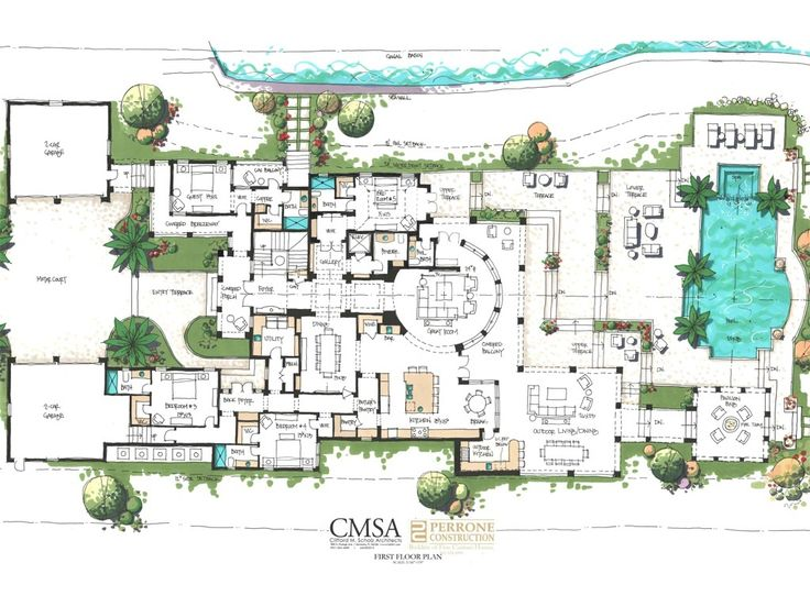 The 467 best mansion floorplans images on pinterest for Find floor plans by address