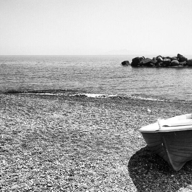 Black Beach (Santorini, Grécia)