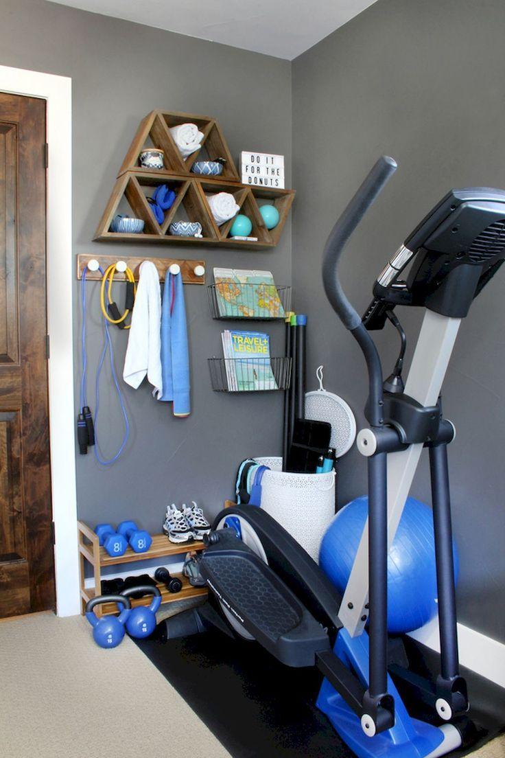 60 Cool Home Gym-Deko-Ideen für ein kleines Zimmer