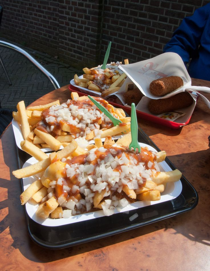 Because they know how to serve chips. | 46 Reasons You Should Never Leave Amsterdam