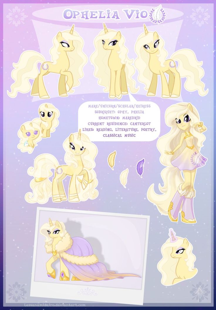 Ophelia Vio : Ultimate Reference Guide by Laurel3aby on DeviantArt