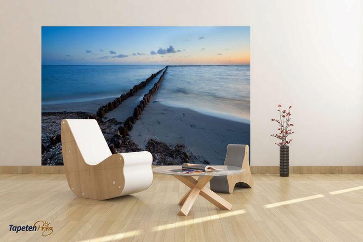 Fototapete Strand ✔Individuelle Bildtapete mit Strand Motiv günstig online bestellen ✔ Gestalten Sie ihre Motivtapete mit eigenem Foto und eigenem Format