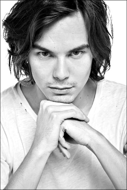 Tyler Blackburn aka Caleb from Pretty Little Liars. He's saying Brooke reister look deep into my eyes and fall in love