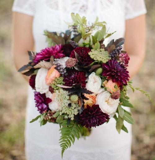 Herbst Woodland Hochzeit Inspiration