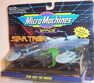 Star Trek Micro Machines The Movies Collection #2 @ niftywarehouse.com #NiftyWarehouse #StarTrek #Trekkie #Geek #Nerd #Products